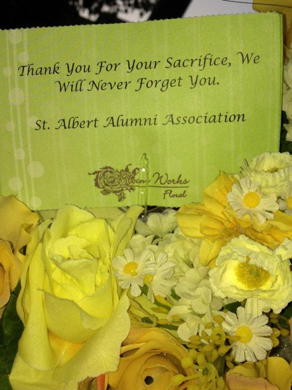 Alumni Association 2012 Memorial Bouquet 1