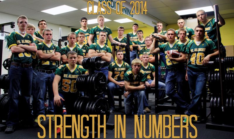 Falcon Football 2013 Strength in Numbers