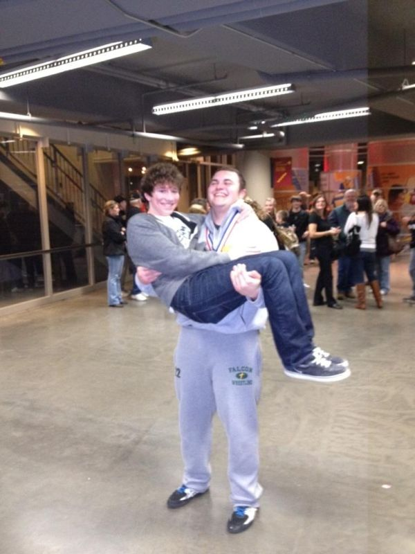 One State Champion Carries Another - Marco Naughton & Brennan McNitt