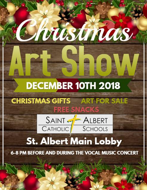 SA December 2018 Art Show