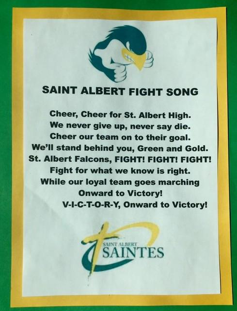 St. Albert Fight Song