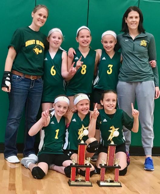 2018 4th grade PAL Volleyball Champions