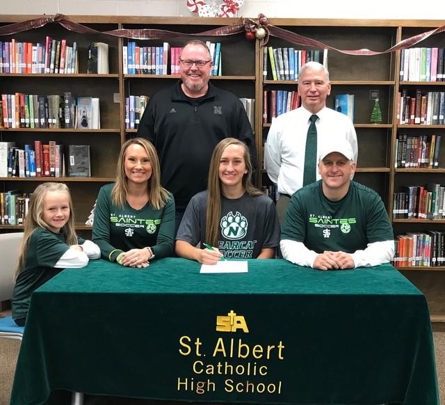 2018 Teagan Blackburn signs with NW Missouri State