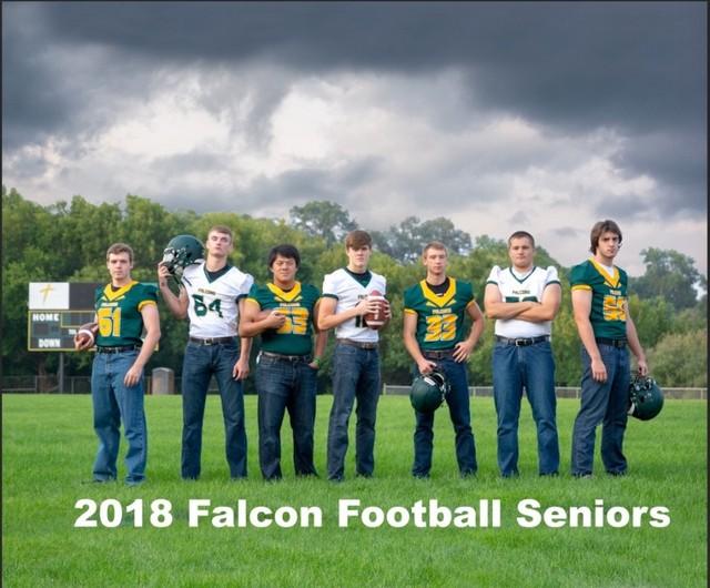 2018 Falcon Football Seniors