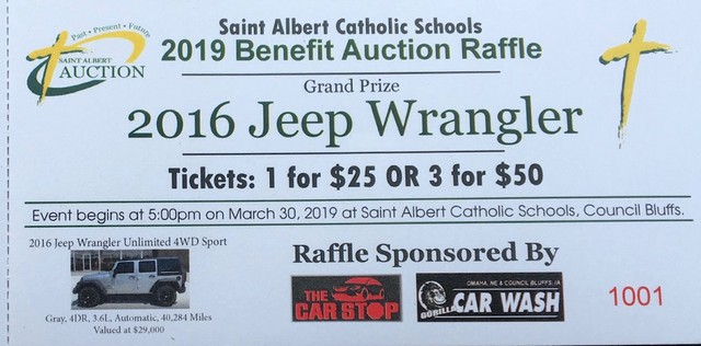 2019 Auction Jeep Ticket