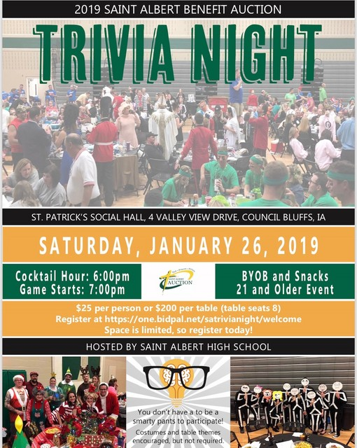 2019 SA Auction Trivia Night