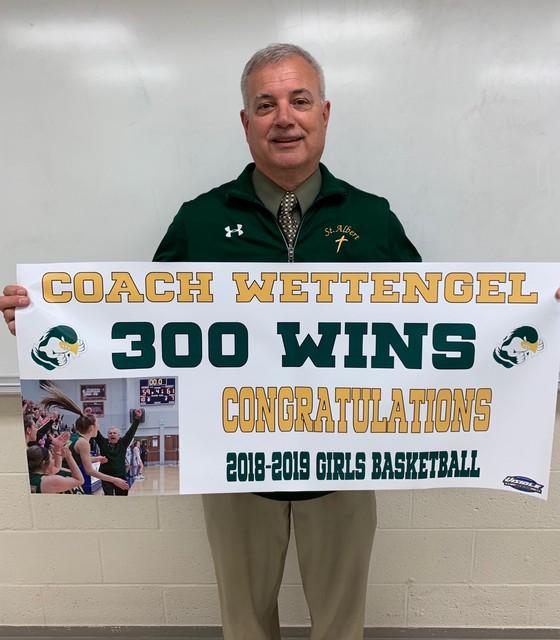 Coach Wettengel 300 Wins