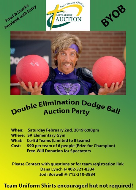 2019 SA Auction Dodgeball Fundraiser