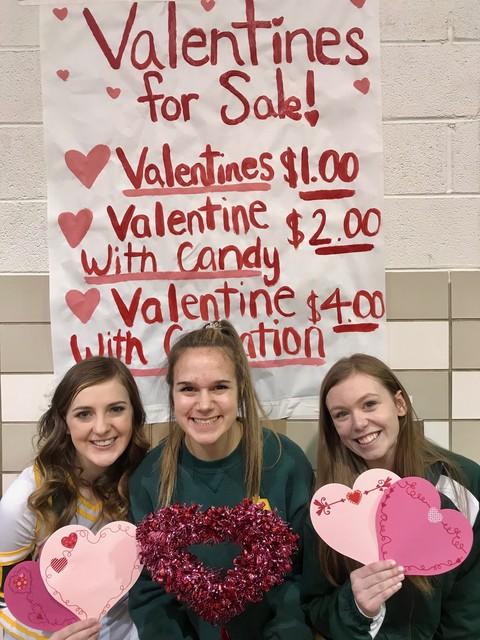 2020 Cheer Team Valentines