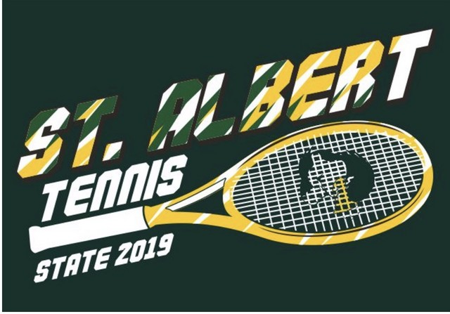 2019 State Tennis Shirts