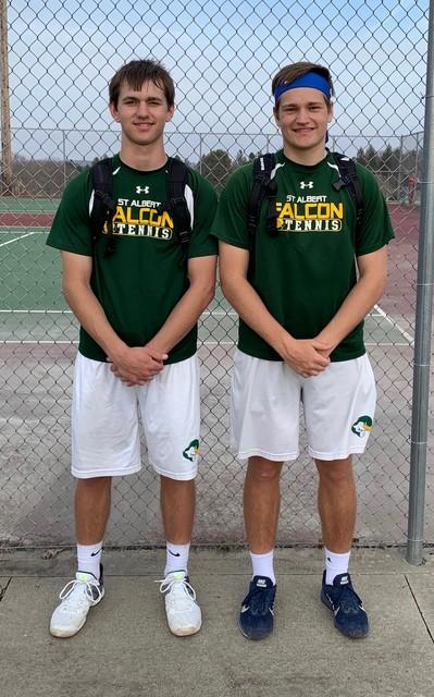 2019 Falcon Tennis Jeff & Reed Miller