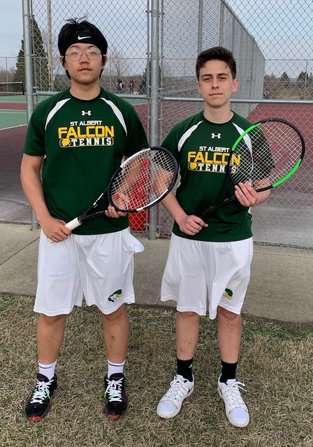 2019 Falcon Tennis Richard Hu and Vince Arculeo