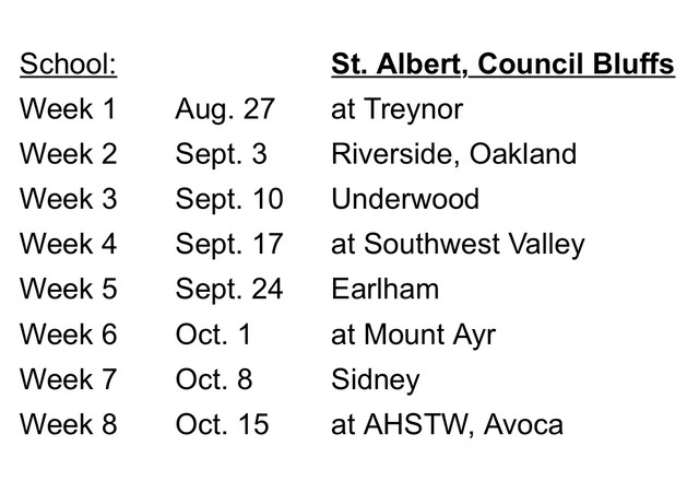 2021 Falcon Football Schedule