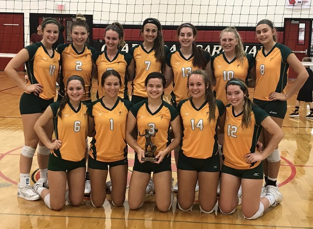 2019 Saintes Volleyball Clarinda Tourney Champions