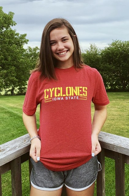 Allie Petry commits to Iowa State 8.16.19