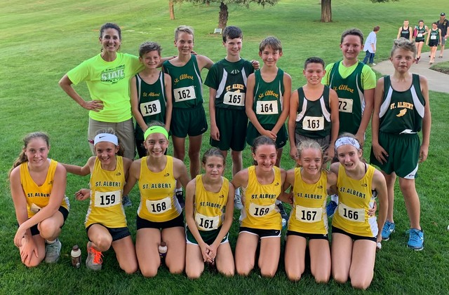 2019 Middle School Cross Country with Coach Martin