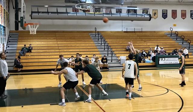 2019 Falcon Basketball Scrimmage 2