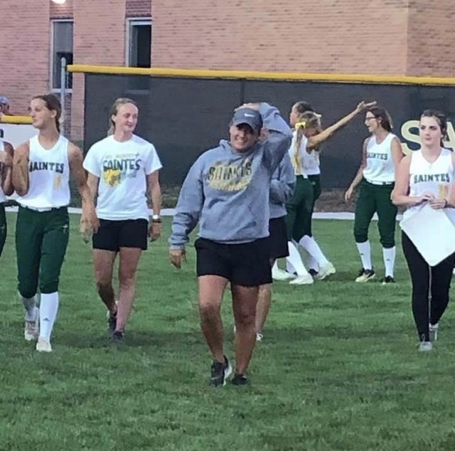 2020 KMA Hawkeye 10 Conference Softball Coach of the Year Lyndsay Daley
