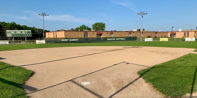 May 2020 Saintes Softball Field