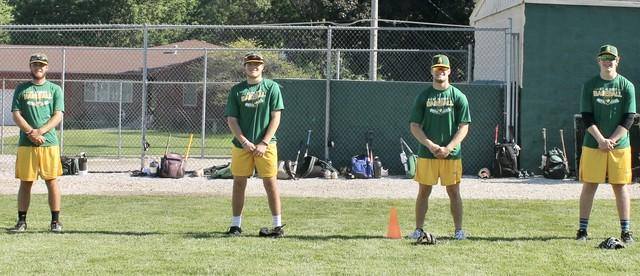 Baseball Seniors June 2020