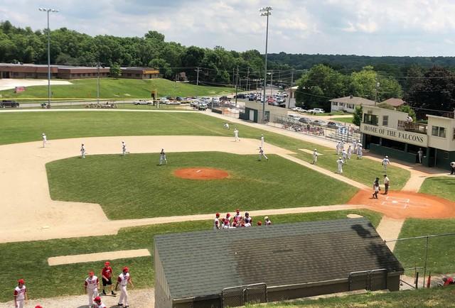 2020 Falcon Baseball vs Treynor 1