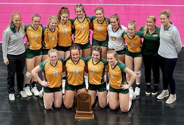 2020 Saintes Volleyball State Semi 10