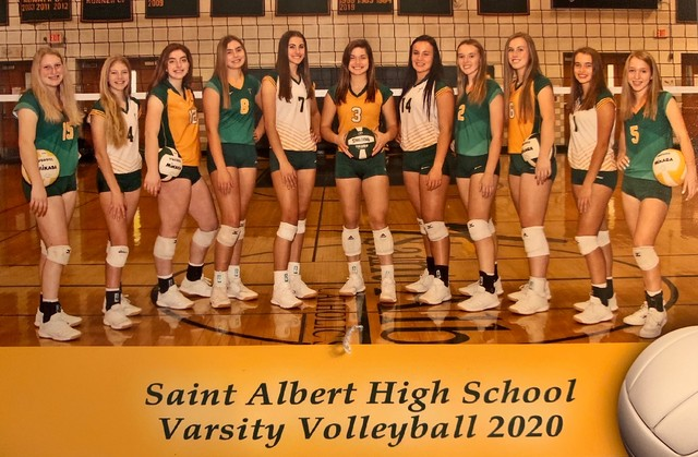 2020 Saintes Volleyball Team