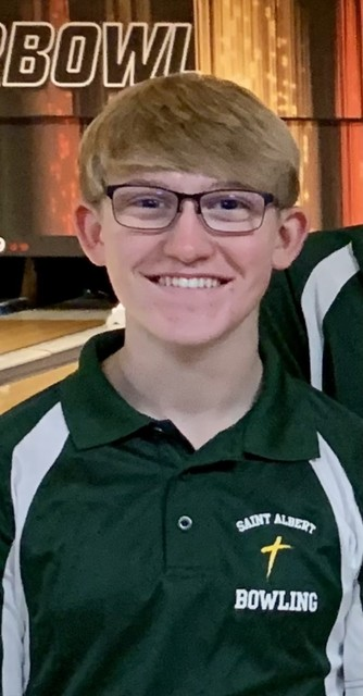 2021 Falcon Bowling 1st Team All State Evan White