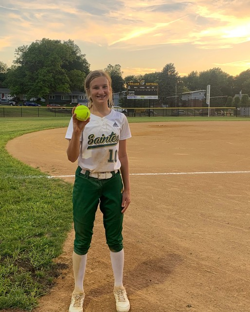2021 Saintes Softball Kylie Wesack First Home Run at Atlantics Field 6.15.21jpeg