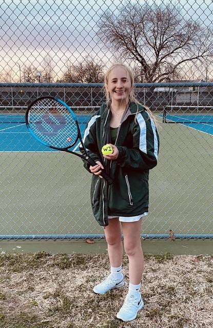 2021 Saintes Tennis vs TJ Lily Barnes