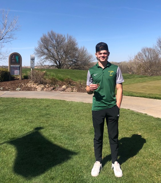 2021 Falcon Golf at Denison Brett Klusman 7th