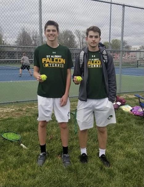 2021 Falcon Tennis vs TJ 1