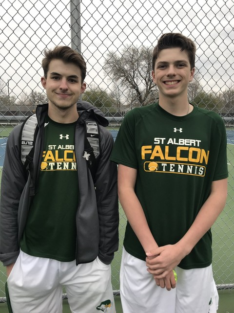 2021 Falcon Tennis vs TJ 2