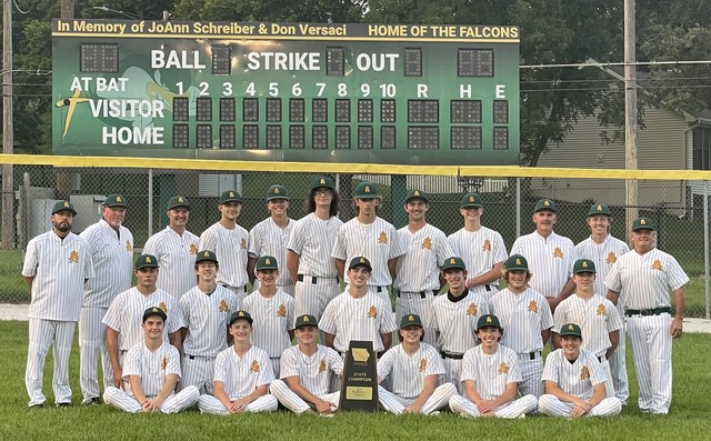 2021 SA Falcon Baseball State Champions