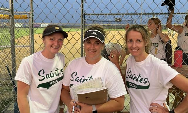 2021 Saintes Softball at Fremont Mills 1