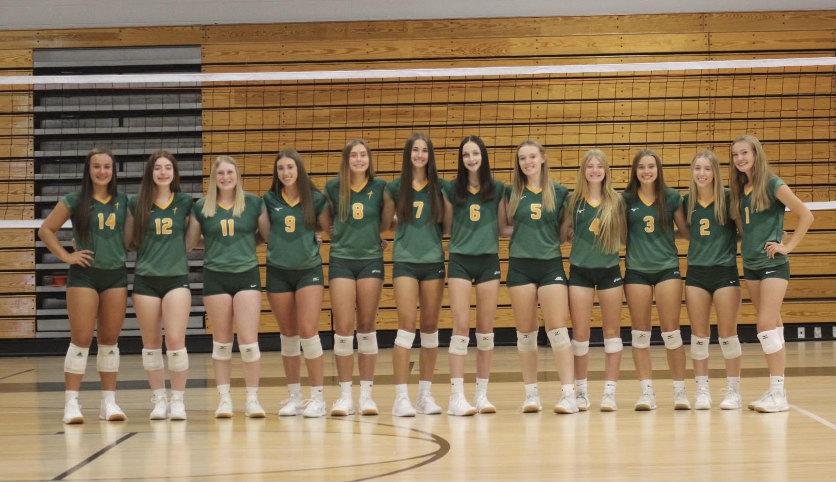2021 Saintes Varsity Volleyball 1