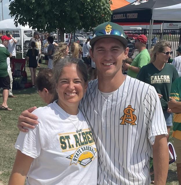 2021 Falcon Baseball State Semifinal vs Alburnett 2