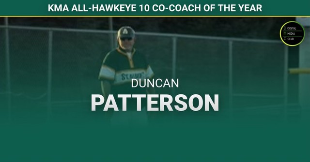 2021 Falcon Baseball Coach Patterson KMA Award