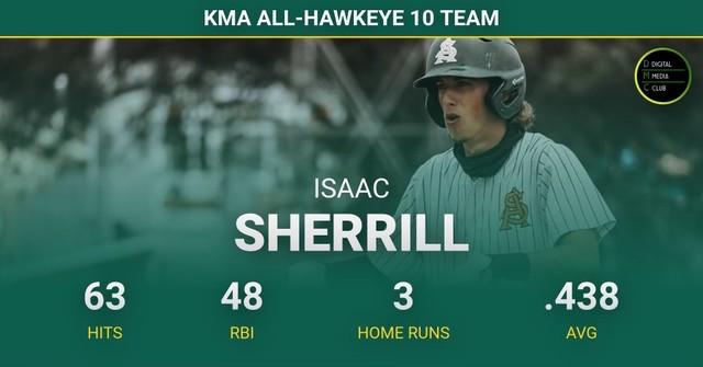 2021 Falcon Baseball Isaac Sherrill KMA Award