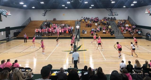 2021 Saintes Volleyball Homecoming vs Atlantic