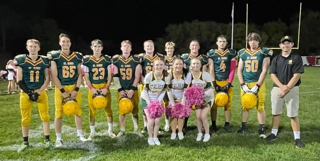 2021 Football & Cheer Senior Night