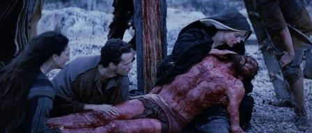 Jesus is taken down from the cross