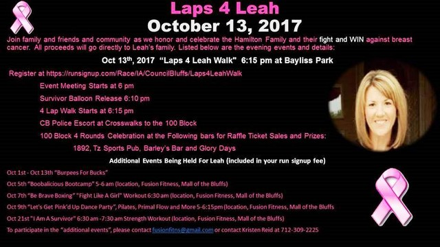 Laps 4 Leah Hamilton Fall 2017