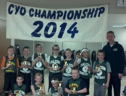 4th Grade Falcons CYO Champs 2014