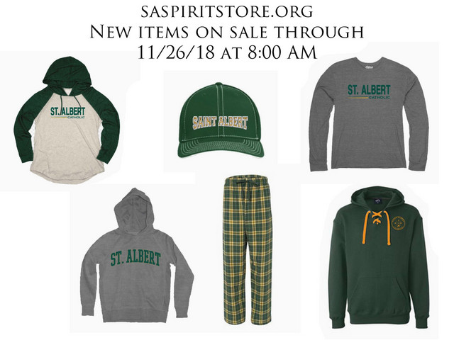 2018 Nov. Spirit Store Sale