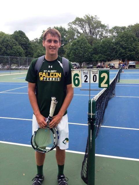 Travis Miller at State Tennis 2016 1