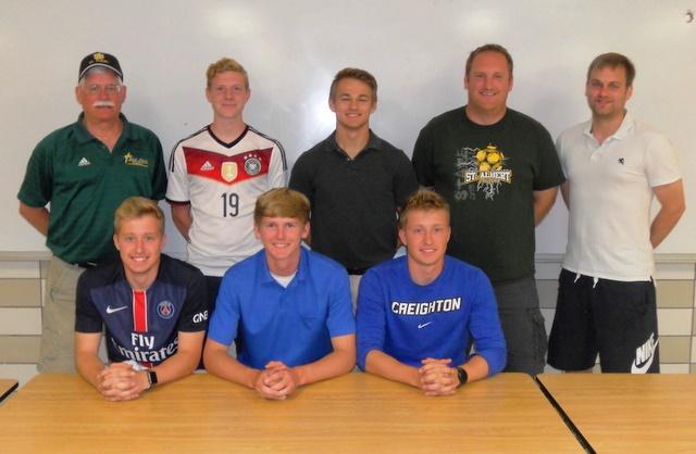2016 Falcon Soccer Seniors and Coaches