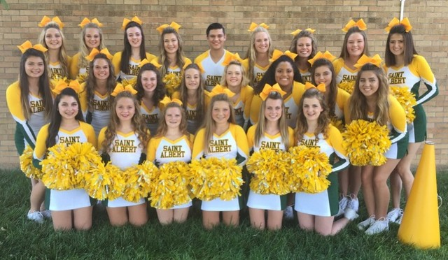 2016-2017 SA Cheerleaders
