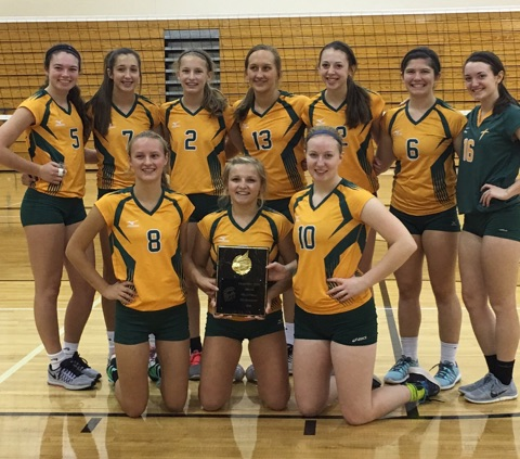 Saintes win 2016 Atlantic Volleyball Tourney