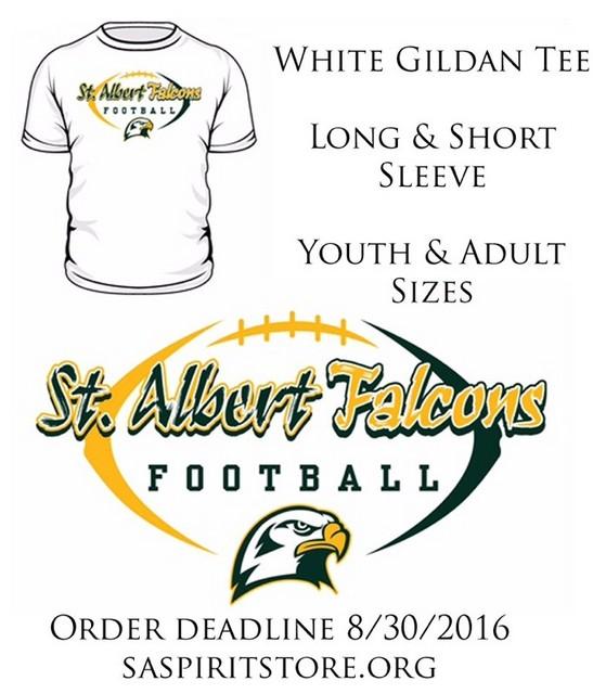 2016 Falcon Football Shirts